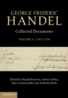 George Frideric Handel: Volume 4, 1742-1750 : Collected Documents - Book