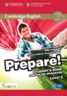 Cambridge English Prepare! : Cambridge English Prepare! Level 5 Student's Book and Online Workbook with Testbank - Book