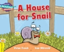 A House for Snail Yellow Band - Book