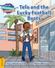 Tefo and the Lucky Football Boots Gold Band - Book