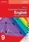 Cambridge Checkpoint English Teacher's Resource CD-ROM 9 - Book