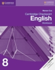 Cambridge Checkpoint English Workbook 8 - Book