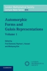Automorphic Forms and Galois Representations: Volume 1 - Book