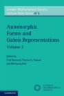 Automorphic Forms and Galois Representations: Volume 2 - Book