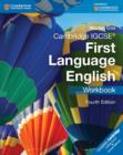 Cambridge IGCSE (R) First Language English Workbook - Book