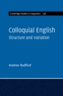 Colloquial English : Structure and Variation - Book