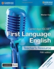 Cambridge IGCSE (R) First Language English Teacher's Resource with Cambridge Elevate - Book