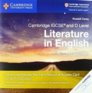 Cambridge International IGCSE : Cambridge IGCSE (R) and O Level Literature in English Cambridge Elevate Teacher's Resource Access Card - Book