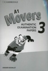 A1 Movers 3 Answer Booklet : Authentic Examination Papers - Book