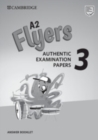 A2 Flyers 3 Answer Booklet : Authentic Examination Papers - Book