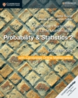 Cambridge International AS & A Level Mathematics: Probability & Statistics 2 Coursebook with Cambridge Online Mathematics (2 Years) - Book