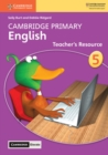 Cambridge Primary English Stage 5 Teacher's Resource with Cambridge Elevate - Book