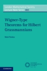Wigner-Type Theorems for Hilbert Grassmannians - Book