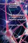 The acquisition of aspect in a second language - Book