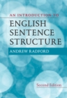 An Introduction to English Sentence Structure - Book