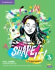 Shape It! Level 3 Full Combo Student's Book and Workbook with Practice Extra - Book