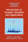 Introduction to Complex Variables and Applications - Book
