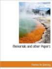 Memorials and Other Papers - Book