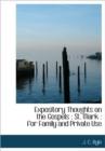 Expository Thoughts on the Gospels : St. Mark: For Family and Private Use - Book
