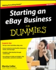 Starting an eBay Business For Dummies - Book