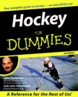 Hockey For Dummies<sup></sup> - eBook