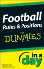 Football Rules and Positions In A Day For Dummies - eBook