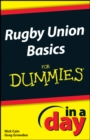 Rugby Union Basics In A Day For Dummies - eBook
