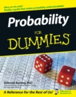 Probability For Dummies - eBook