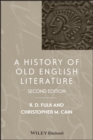 A History of Old English Literature - eBook