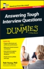 Answering Tough Interview Questions For Dummies - UK - Book