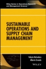 Sustainable Operations and Supply Chain Management - Book