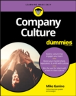 Company Culture For Dummies - eBook