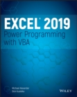 Excel 2019 Power Programming with VBA - Book