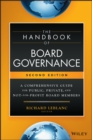 The Handbook of Board Governance : A Comprehensive Guide for Public, Private, and Not-for-Profit Board Members - Book