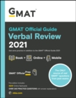 GMAT Official Guide Verbal Review 2021 : Book + Online Question Bank - Book