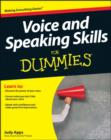 Voice and Speaking Skills For Dummies - Book