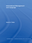International Management and Language - eBook