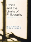 Ethics and the Limits of Philosophy - eBook