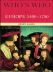 Who's Who in Europe 1450-1750 - eBook