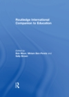Routledge International Companion to Education - eBook