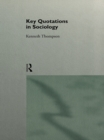 Key Quotations in Sociology - eBook