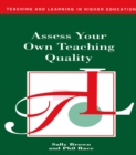 Assess Your Own Teaching Quality - eBook