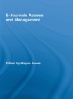 E-Journals Access and Management - eBook