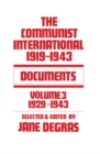 Communist International : Documents, 1919-1943 - eBook