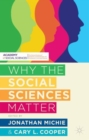 Why the Social Sciences Matter - Book