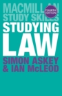 Studying Law - Book