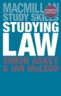 Studying Law - eBook