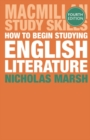 How to Begin Studying English Literature - Book