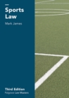 Sports Law - eBook