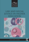 Law and Social Justice in Higher Education - Book